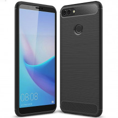 Husa HUAWEI Y9 2018 - Carbon (Negru) FORCELL