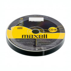CD-R Maxell, 700 MB, 52x, 10 bucati/bulk in folie