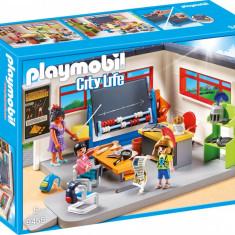 Set constructie Playmobil City Life - Sala de istorie