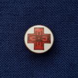 Insigna medicina per. regalista - Crucea rosie - Regina Elena