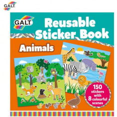 Cartea Mea cu Stickere - Animale