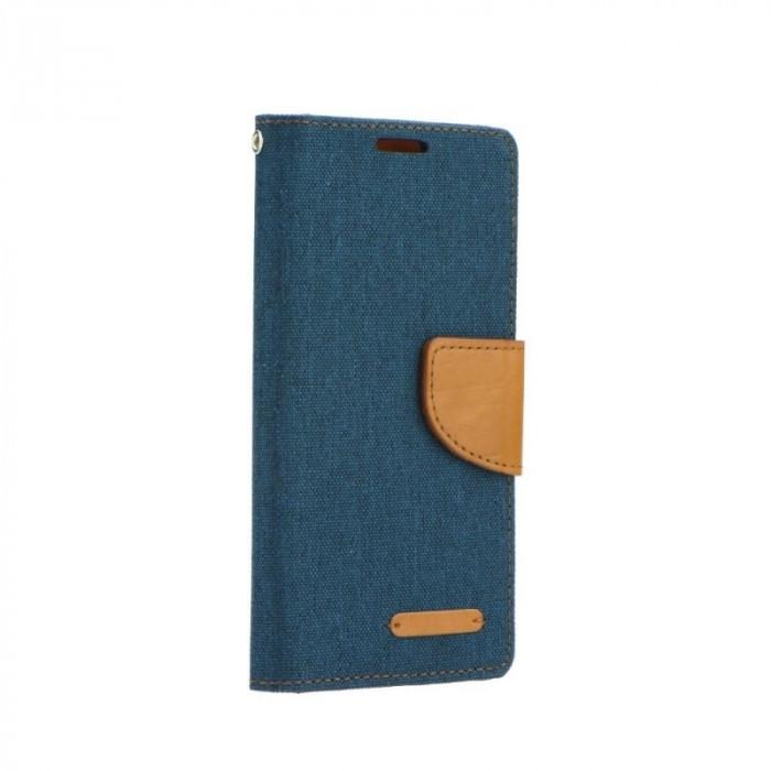 Husa SAMSUNG Galaxy A3 (2015) A300F - Canvas Book (Bleumarin)