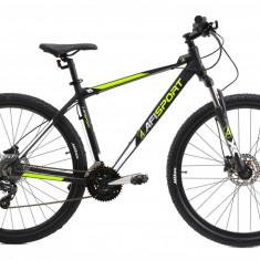 Bicicleta Mtb Afisport 2921 495mm Negru Verde 29