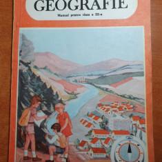 geografie - manual pentru clasa a 3 -a din anul 1990