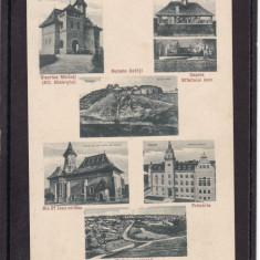 SUCEAVA   BISERICA  MIRAUTI  PRIMARIA  CAPELA  RUINELE CETATII  VEDERE GENERALA, Necirculata, Printata