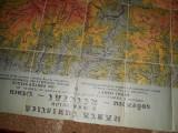 Harta Turistica a Masivelor Godeanu-Tarcu si Retezatul/ PANZATA !