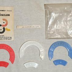 Jucarie comunista de colectie JOC COMPLET ROMANESC - Jocul CERCURILOR 1978 RAR