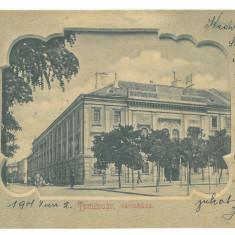 4808 - TIMISOARA, Litho, Romania - old postcard - used - 1901