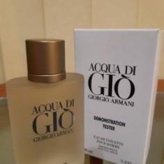 Giorgio Armani Acqua Di Gio 100ml │Parfum Tester, 100 ml