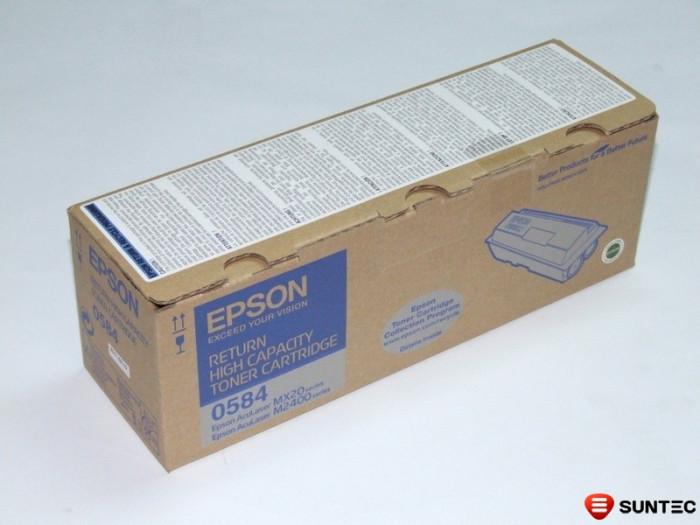 Cartus original NOU imprimanta Epson 0584, Epson Aculaser M2300, Epson Aculaser M2300d, Epson Aculaser M2300dn, Epson Aculaser M2400, Epson Aculaser M