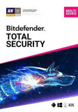 Bitdefender Total Security, 1 an, licenta electronica
