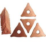 Set de 20 saibe triunghiulare pentru tras tabla