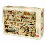 Cumpara ieftin Puzzle Encyclopedia - Wild Animals, 1000 piese