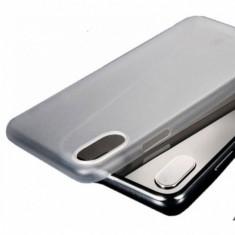 Carcasa protectie spate din plastic pentru iPhone X Xs 5.8 inch transparenta