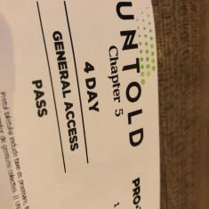 Abonamente bilete Untold