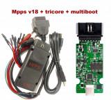 Interfata chiptunning Mpps V18 + WinOls + ECM Titanium + DPF EGR Remover ECUsafe