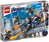 LEGO SUPER HEROES CAPTAIN AMERICA ATACUL OUTRIDERILOR 76123