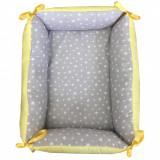 Cumpara ieftin Reductor Bebe Bed Nest Deseda Stelute gri