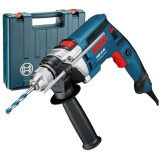 Masina de gaurit cu percutie Bosch GSB 16 RE 2800 rpm 750W Albastru