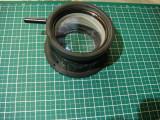 Ansamblu optic proiectie /condensor lumina / lupa/lentila optica