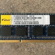 Memorii Laptop Elixir 8GB DDR3 PC3L-12800S 1600Mhz 1.35V