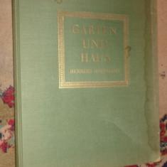 Garten und haus /gradini si case /190pagini/ilustratii/text in lb.germana