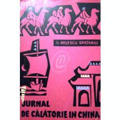 Jurnal de calatorie in China (Editia a II-a)