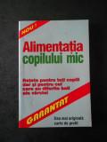 ALIMENTATIA COPILULUI MIC (2001)