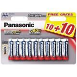 Baterii Panasonic Everyday Power LR6/AA 20 bucati