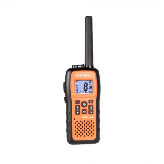 Resigilat : Statie radio PMR portabila Albrecht Tectalk Float IP67 Cod 29660
