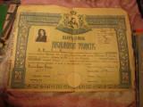diploma bacalaureat teoretic liceul ortodox de fete craiova an 1946 n217