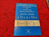 PROBLEME DE ANALIZA MATEMATICA PENTRU CLASELE A XI A SI A XII A  EUGEN POPA