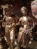 Sculptura ,statueta antica din bronz masiv Dore de o mărime impozanta