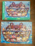 Puzzle Arca lui Noe, 100 piese, complet, international playthings, cutia 33x23cm