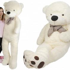 Ursulet de Plus Gigant XXXL, Inaltime 190cm, Culoare Crem