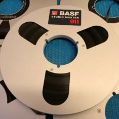 Banda Magnetofon BASF rola metalica 26cm-NAB-Silver(Akai,Teac,Tascam,Agfa,REVOX)