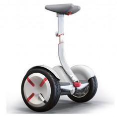 Scuter electric (hoverboard) Segway Ninebot miniPRO, Viteza 18km/h, Autonomie 30 km, Putere motor 2 x 800W (Alb)