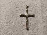 Cruce veche argint masiv
