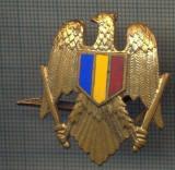 Y 1508 INSIGNA- MILITARA -EMBLEMA COIFURA(CUC) -PENTRU COLECTIONARI