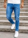 Blugi bleumarin bărbati skinny fit Bolf KX536