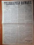 telegrafulu romanu 3/15 iulie 1877-articol razboiul de independeta,carol 1