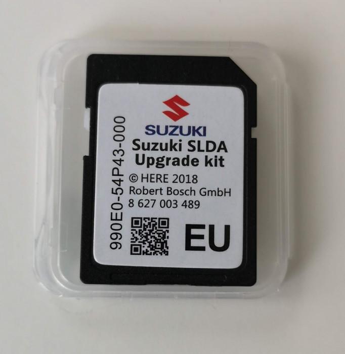 SUZUKI Vitara, SX-4 S-Cross, Ignis SD CARD HARTA NAVIGATIE SLDA EU ROMANIA 2018