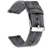 Curea material textil, compatibila cu Huawei Watch GT, Telescoape QR, 22mm, Grainsboro Gray