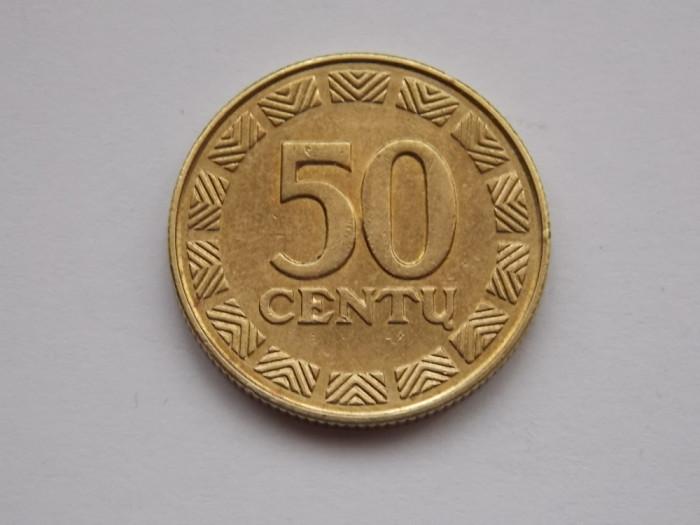 50 centu 1997 Lituania-xf