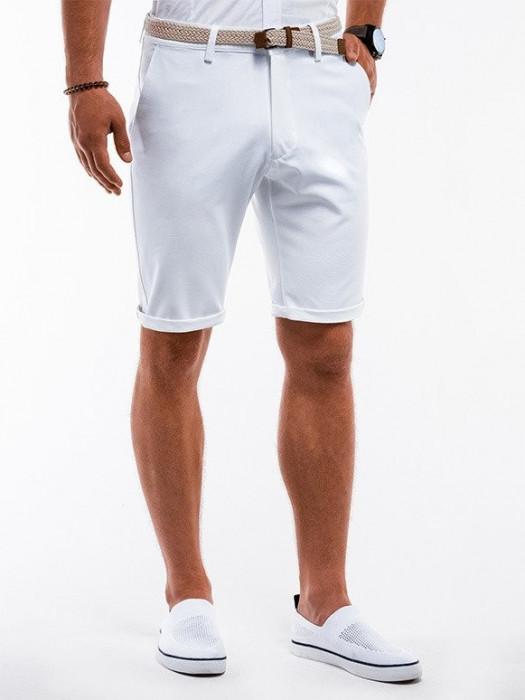 Pantaloni scurti premium barbati W230 alb