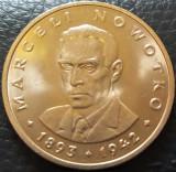 Moneda 20 ZLOTI - POLONIA, anul 1976  *cod 3772 UNC - Marceli Nowotko
