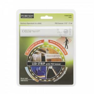 Banda LED cu senzor de miscare, cu baterie, 100 cm Best CarHome