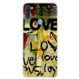 Husa Samsung Galaxy A11 model Love Graffity, Silicon, Antisoc, Viceversa