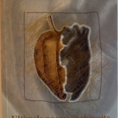ULTIMELE POEME INCHIPUITE ALE LUI V.V. IN TRANSCRIERE IMAGINARA DE HANNA BOTA, 2003