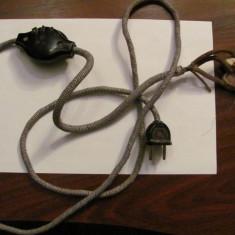 GE - Cablu vechi complet pentru perna electrica / nefunctional